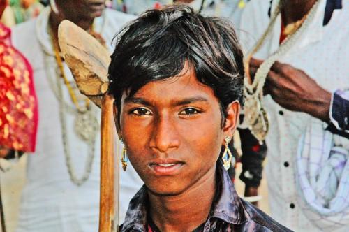 Salumbar troupe boy
