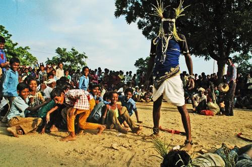 Jharmal Nagpur troupe scene